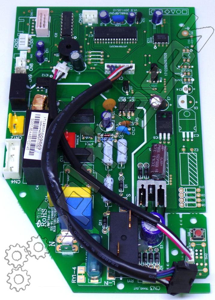 Placa da Evaporadora Split High Wall Midea Eco Inverter 18.000 Btus 830222044 201332790505 só Frio