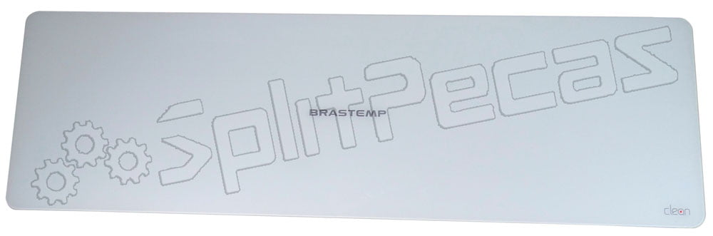 Painel frontal do Ar Condicionado Split Brastemp 9 e 12 Btus W10361774