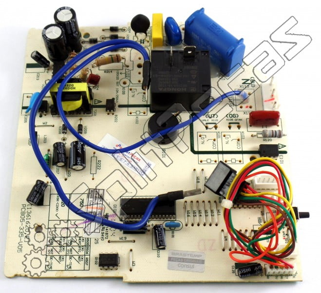 Placa Evaporadora Consul CBV12BB  W10324336 fria