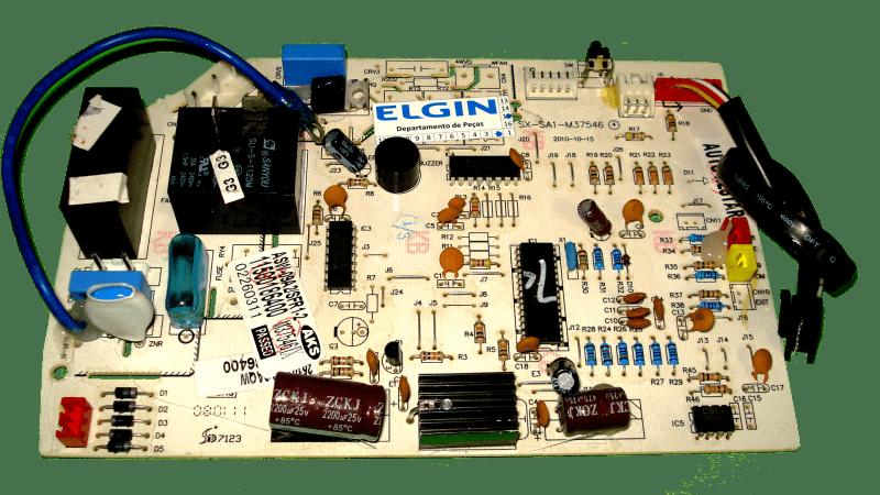 Placa Principal Evap ELGIN E YORK  93186