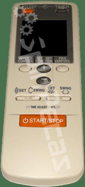controle remoto fujitsu