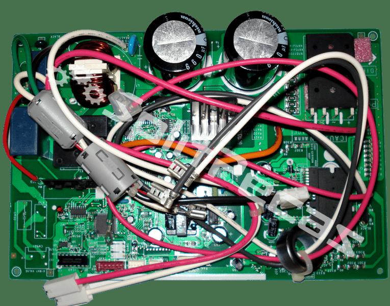 Placa da condensadora 12.000 Btus AOBR12JGC   9707706499 9709215227