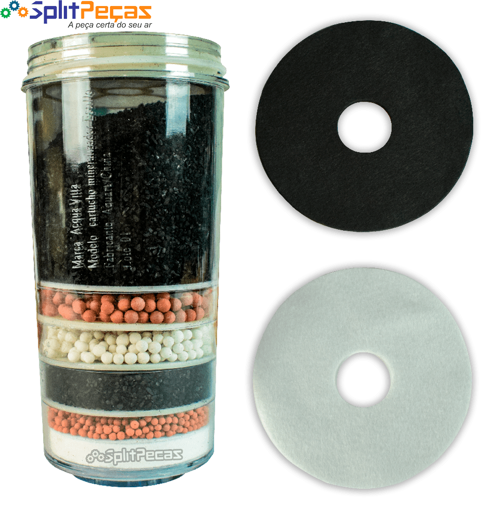 Refil Para Filtro Mineralizador de Água Acqua Vitta Estillo