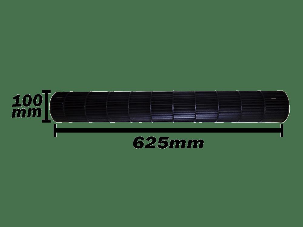 Turbina Evaporadora Fujitsu 7.000, 9.000,12.000 e15.000 btus 100x625 9316830004