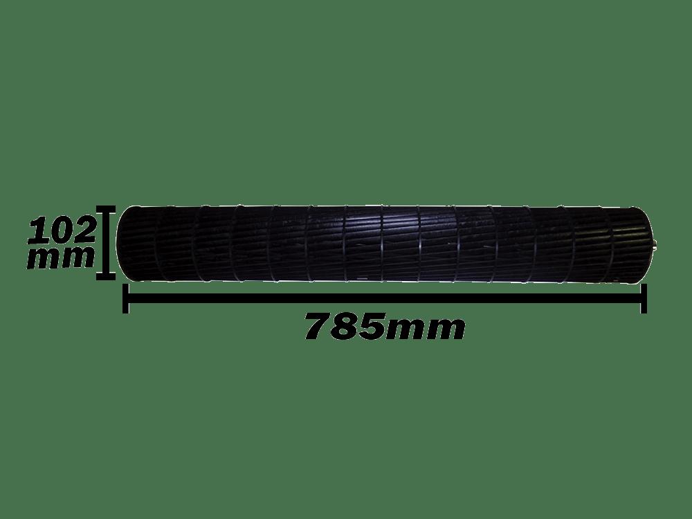 Turbina Evaporadora LG 18.000 e 24.000 Btus ADP67778501 102x785