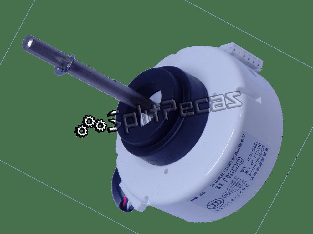 Motor da Evaporadora Split Max Plus Samsung 18.000 Btus DB31-00556A