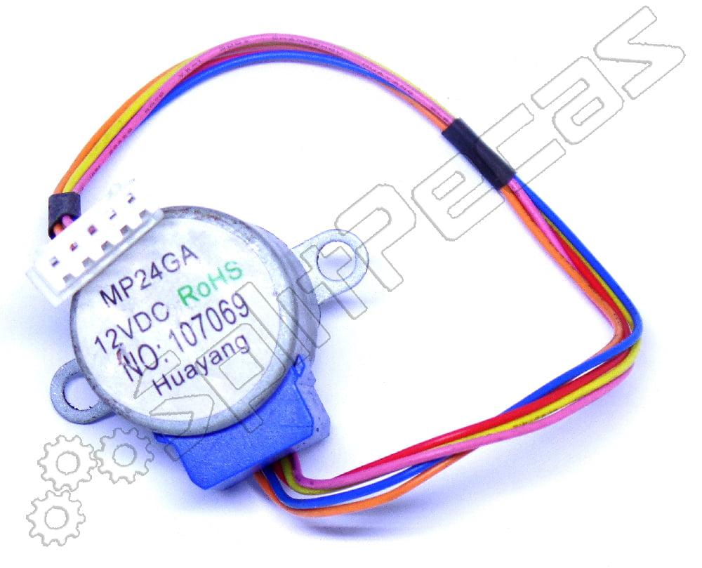 Motor Swing Ar Condicionado Split Hi Wall Carrier Midea  7.000 a 18.000 Btus 202400200027  830210085