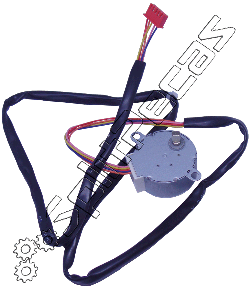 Motor Swing da Evaporadora Midea Carrier 18.000 a 72.000 Btus 25904105