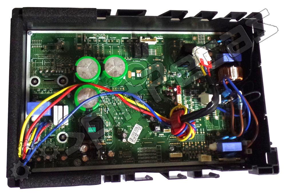 Placa da Condensadora LG  18.000 Btus EBR71383312