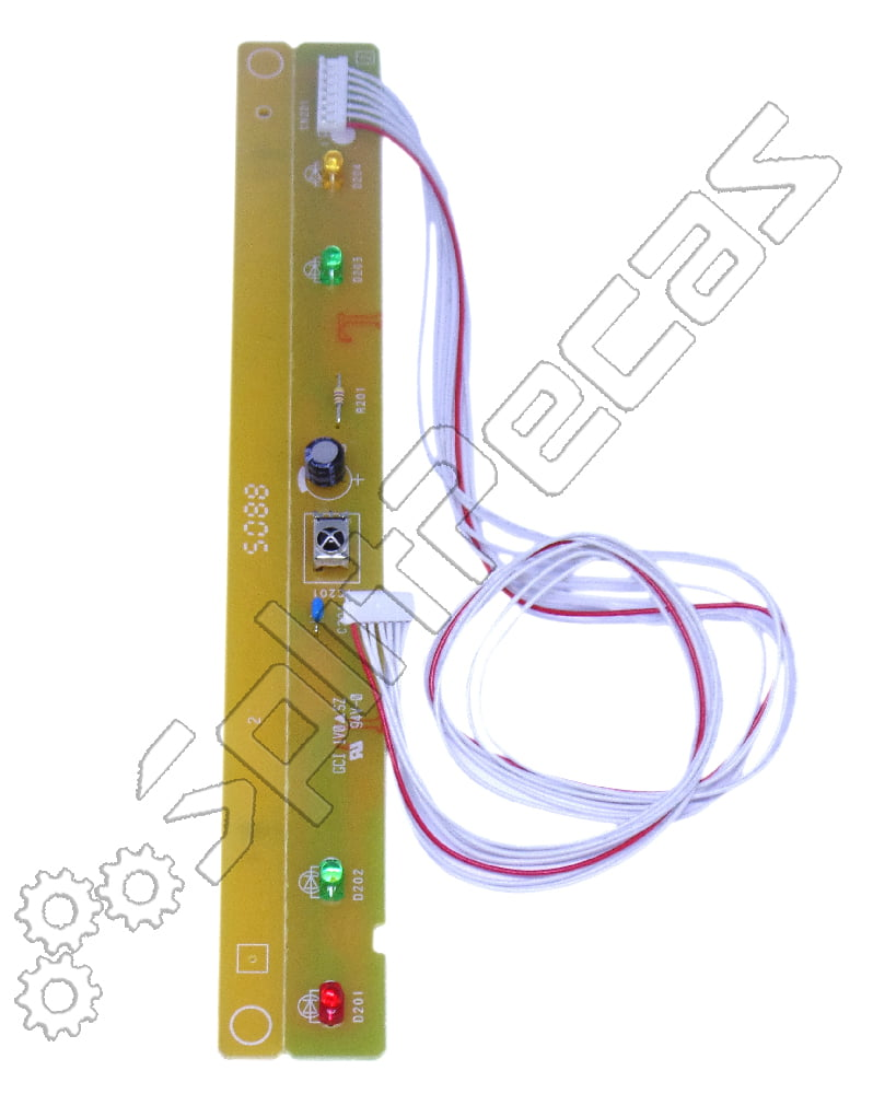 Placa Display  Indicadora Fujitsu 9.000 , 12.000 e 18.000 Btus 9705039032