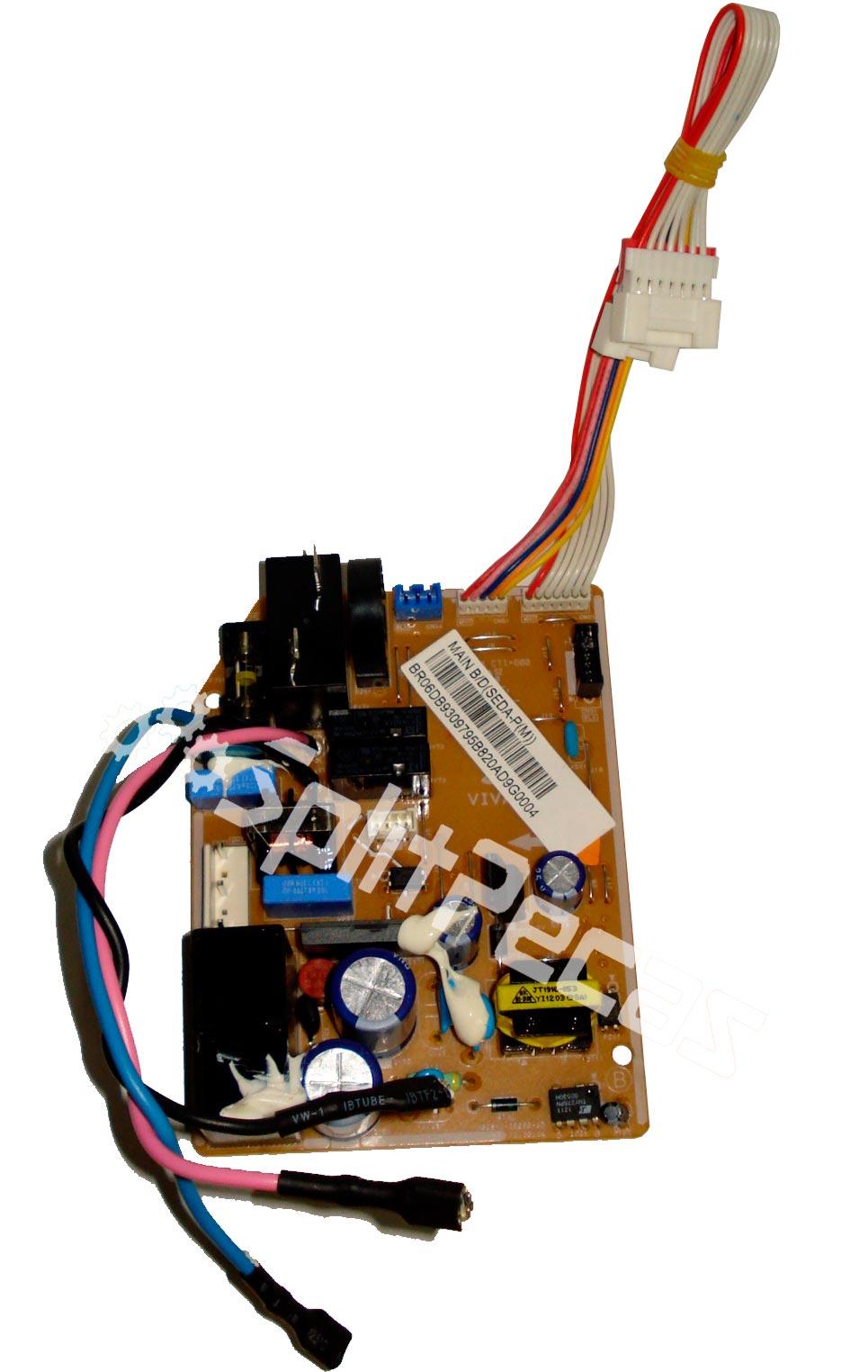 Placa Eletrônica da Evaporadora Samsung 24.000 Btus  DB93-09795B AQ24UBTXAZ