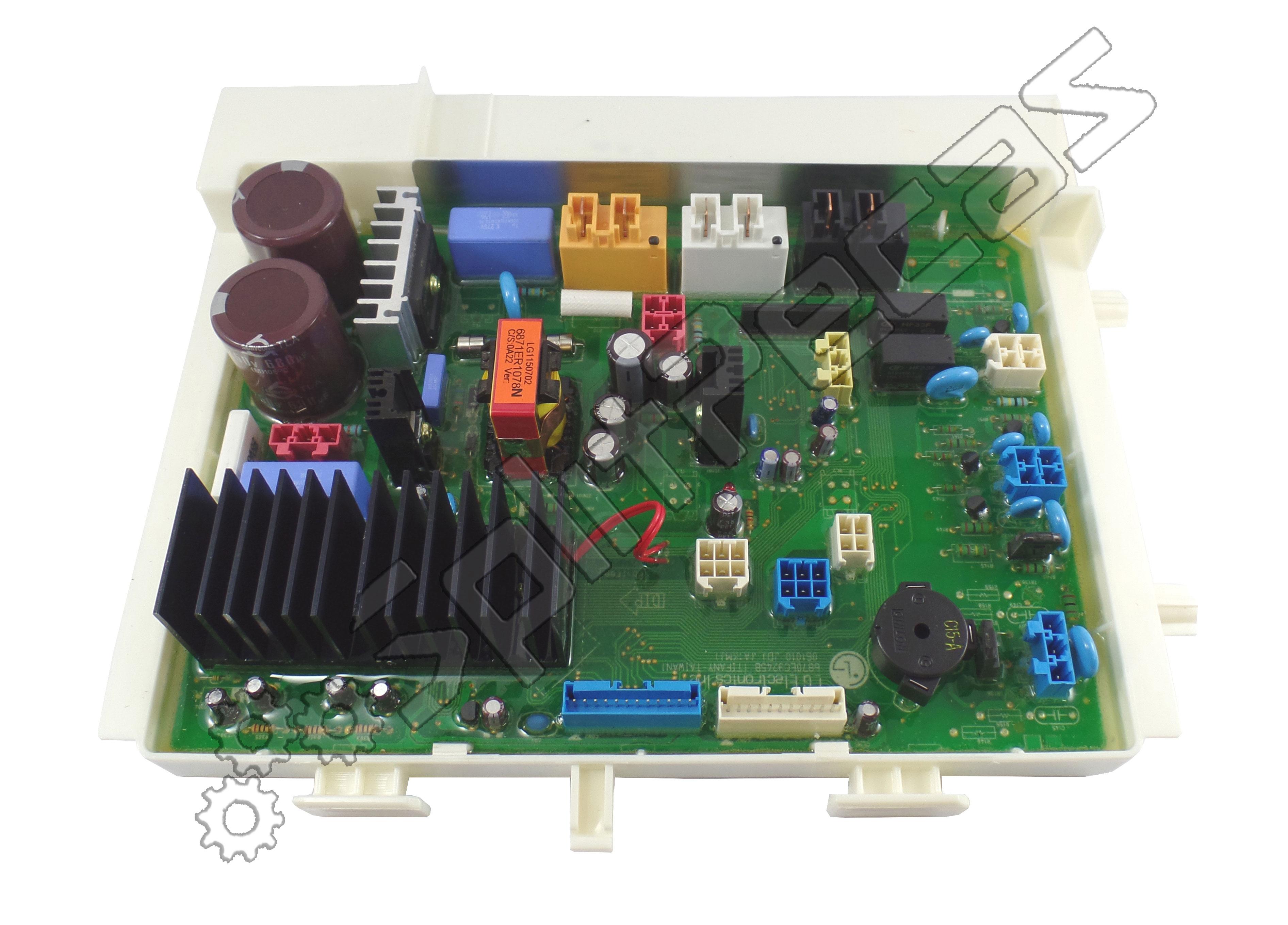 Placa principal Maquina Lava e seca LG WD-12311RD 127V 6871ER1078N