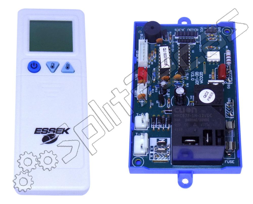 Placa Evap. Universal c/ display e dois sensores Split Hi Wall U05PG