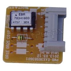 Sub Placa Eletrônica do Ar Condicionado LG 18.000 Btus EBR78341603