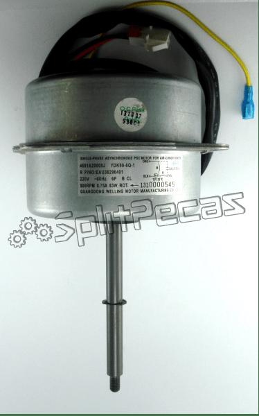 Motor Ventilador do Condensador 220V 60HZ Split LG   4681A20008J   EAU36296401