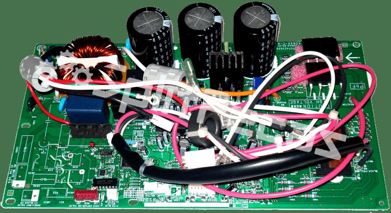 Placa da condensadora 18.000 Fria Fujitsu AOBR18JCC  9707427196 9709216095