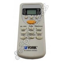 Controle remoto york 07 ao 24.000 btus  0200323190