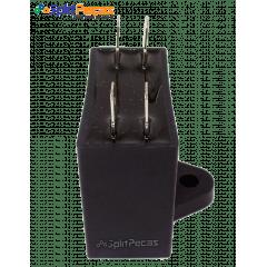 Capacitor Partida do Motor Ventilador 2,5uF ± 5%  SH 450VAC 50/60 Hz (4 Terminais)