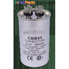 Capacitor de Partida do Compressor 30uF + 5% SH 450VAC 50/60 HZ (2 Terminais)