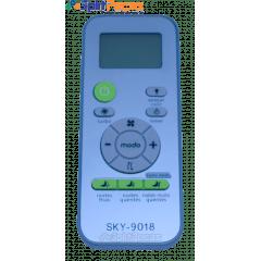 Controle Remoto para o Ar Condicionado Consul 7.000 a 30.000 Btus W10834938 SKY-9018 (Paralelo)