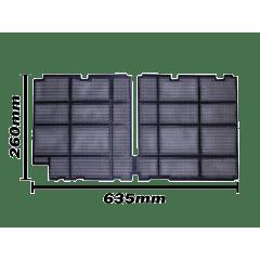 Filtro do Ar Condicionado  LG  7.000 , 9.000 e 12.000 Btus  MDJ32395201