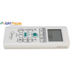 Controle Remoto para o Ar Condicionado Midea Sensia 9.000 a 24.000 Btus 17317000A17101