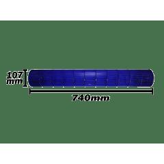 Turbina da evaporadora do ar cond  Komeco 107X740  0200320206