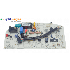 Placa da Evaporadora Midea Carrier Hi Wall 12.000 Btus só Frio 2013325A0683