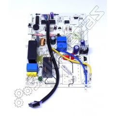 Placa da Evaporadora Split Springer Quente e Frio High Wall 12.000 Btus 2A1332490346