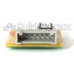 Placa de Função da Evaporadora do Ar Condicionado LG 24.000 Btus EBR74329202