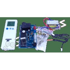 Placa Universal Ar Condicionado Split Kit Hiwal e Piso Teto