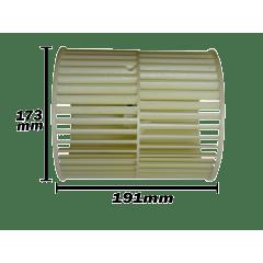 Turbida Evaporadora Piso Teto Samsung 48.000 e 60.000 Btus DB94-05095A 173x191